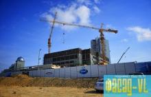 Завершается строительство каркаса будущего театра оперы и балета