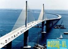 На мосту о. Русский закончили бетонировать анкерные пролёты