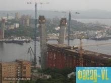 Пожар не скажется на сроках строительства моста во Владивостоке
