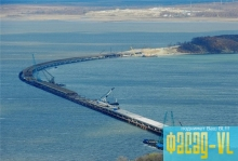 Миклушевский доволен строительством моста Де-Фриз-Седанка