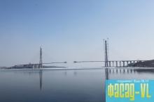 На острове Русский полностью завершили работы над пилоном М6