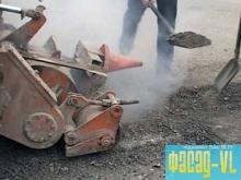 На дорогах Владивостока продолжаются ремонтные работы