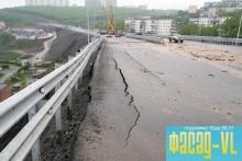 Медведев лично проверит строительство обрушившейся трассы