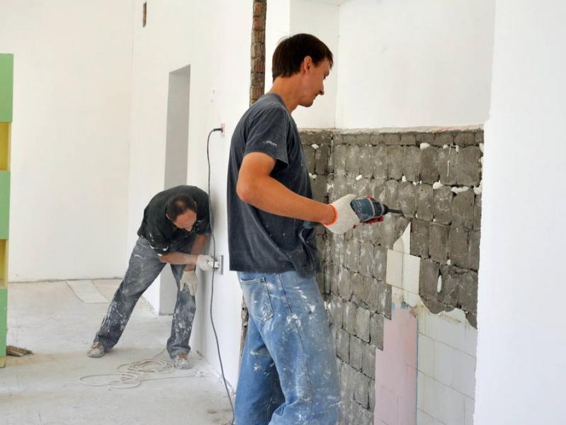 В детских садах Владивостока начались ремонты