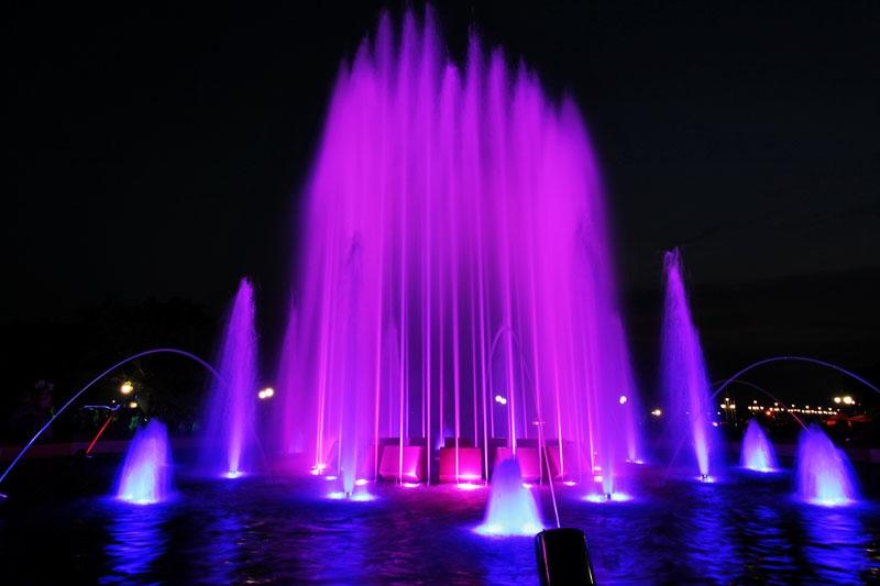 Во Владивостоке скоро заработает светомузыкальный фонтан