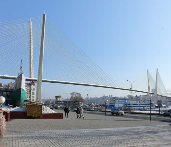 Завершаются все мероприятия по проверке моста через бухту Золотой Рог