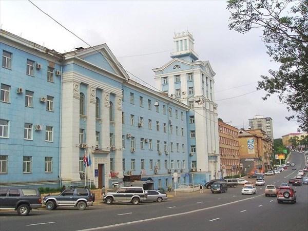 Реставрация фасада здания бывшего СовНарХоза
