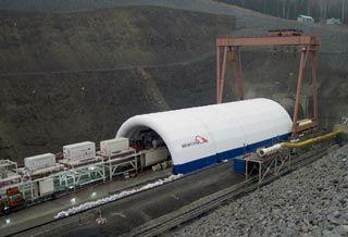 Кузнецовский тоннель подготавливают к сдаче