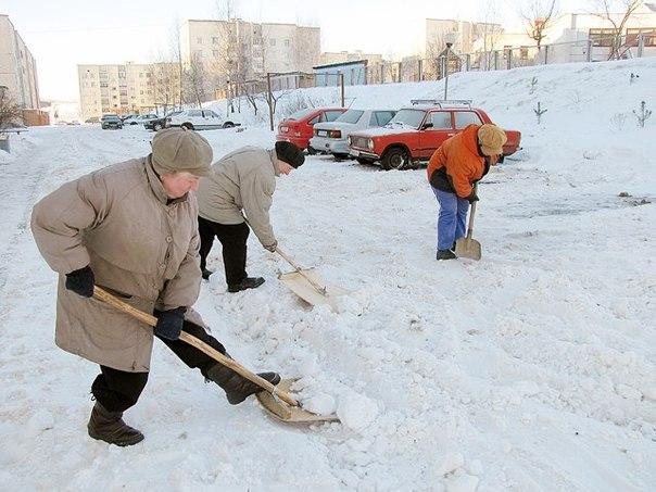 """За неубранный снег """"накажут рублем"""""""