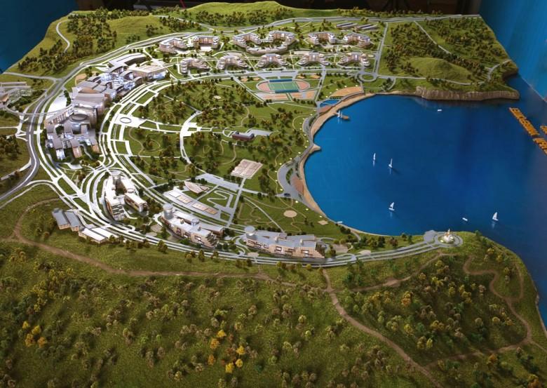 ДВФУ и Конференц-центр: строительство завершено
