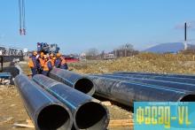 Водовод на острове Русский достроят в этом году