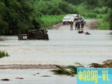 В Дальневосточном регионе восстанавливают дороги