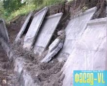 Продолжается ремонт подпорных стен во Владивостоке