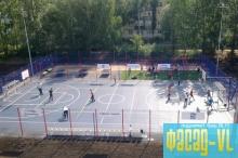 Возле 2-х школ Уссурийска построят спортивные площадки