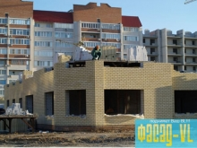 В Первомайском районе Владивостока достраивают детский сад