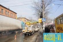 Остановки транспорта во Владивостоке приводят в порядок