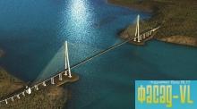 Новый мост на остров Русский начали красить