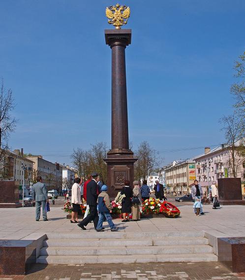 Стела воинской славы украсила Владивосток