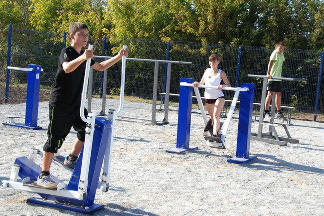 Новый спортивный комплекс появился на улице Баляева во Владивостоке