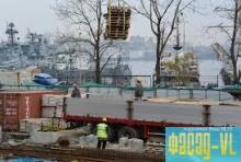 На острове Русском еще 10 недостроек